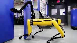 This Awesome And Terrifying Robot Can Open Doors