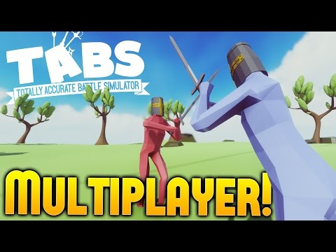 Totally Accurate Battle Simulator - Multiplayer Gameplay - IGP vs Draegast - TABS Sandbox Gameplay