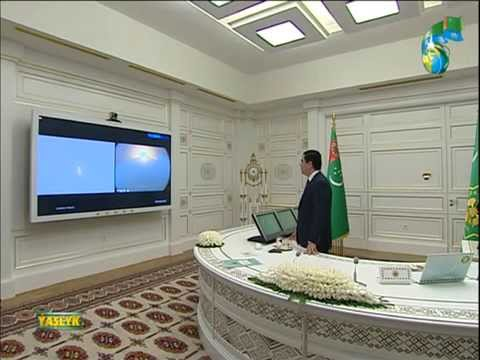 Turkmenistan gets its first communication satellite
