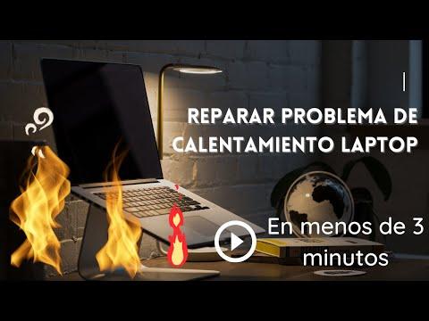 Reparar problema calentamiento laptop dell inspiron 1420 en menos de tres minutos