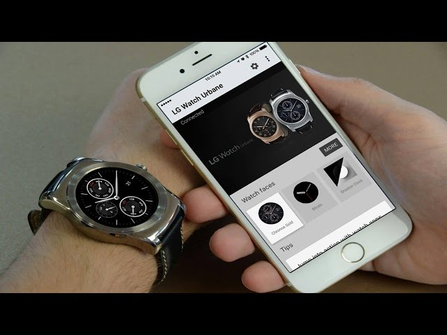 Connect Android Wear to your iPhone