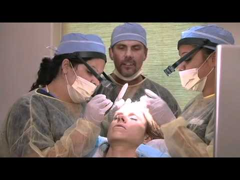 Dr. McGrath, Texas Hair Surgeon, performs Live Hair Transplant on Monica Brant