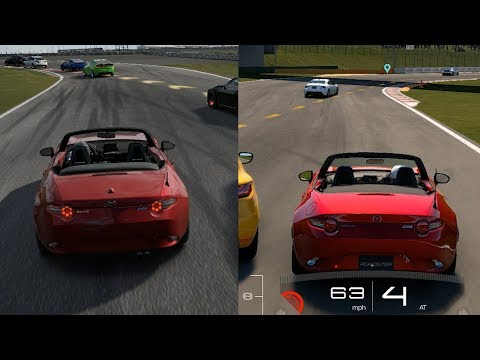 Forza 7 vs GT Sport Visual Comparison