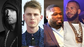 Machine Gun Kelly, 50 Cent, The Game, Joe Budden & More React To Eminem's 'Killshot' Diss Track