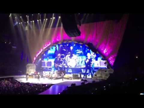 The Rolling Stones with John Mayer Anaheim Cal 2013
