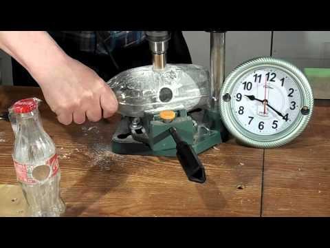 Как сделать дырку из стеклянной бутылки 531