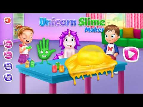 Rainbow Unicorn Slime Maker - Jelly Toy Fun thumb