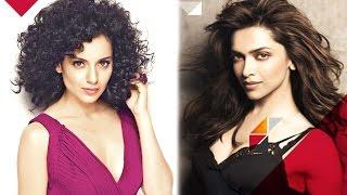 Kangana Ranaut's OPEN CHALLENGE To Deepika Padukone | Bollywood News