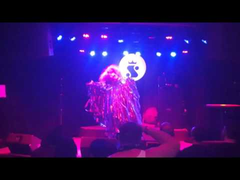 Tate TraVilla performs Goblin and Courtney Love at Austin International Drag Fest 2016
