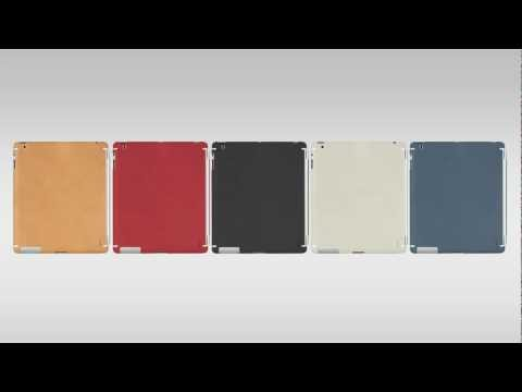 ZAGG LEATHERskins For Apple s Smart Cover