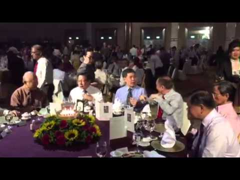 Transport Minister Lui Tuck Yew at Gala Dinner