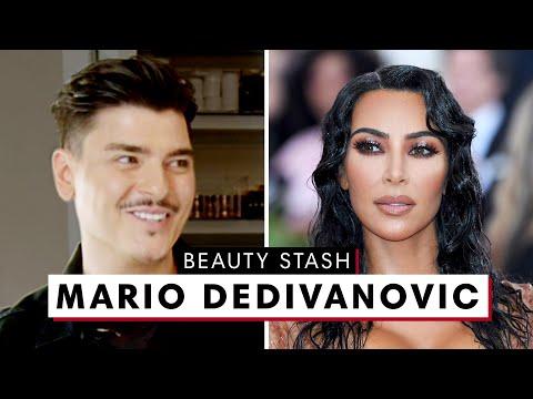 Kim Kardashian's Makeup Artist Mario Dedivanovic's MAJOR Beauty Stash | Harper's BAZAAR