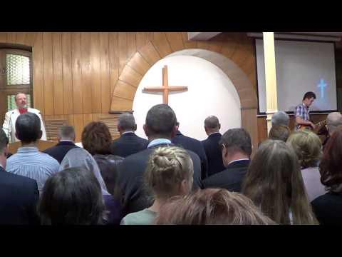 Chrzest Wiary W Kościele Zielonoświątkowym Zbór BETANIA  W Szczecinie (film 2)