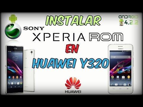 Instalar Xperia Z1 Rom en Huawei Y320-U151 ◢◤ [Basada en Rom Stock]