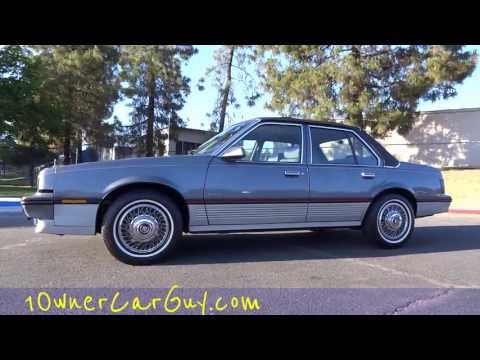 Cadillac Cimarron Sedan 2.8L V6 1 Owner 70.000 Original Miles Test Drive Video Review Cavalier
