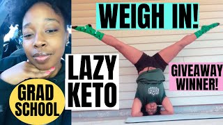 Weigh In Wednesday I Full Day Of Eating Keto To Lose Weight I Grad School I Keto Krate Winner