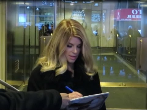 Kirstie Alley leaving Today Show after revealing 50 lb weight loss with Jenny Craig