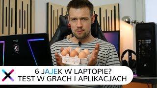 Potężne 6 rdzeni w laptopie | Test i7-8750H w grach i aplikacjach