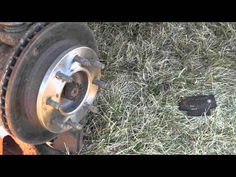 Dodge Ram Front Wheel Bearing Failure and Replacement Part 3