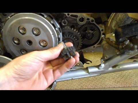 How To Diagnose and Repair your Honda TRX450ER Starting Clutch and Gears