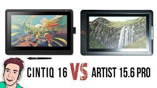Wacom Cintiq 16 VS XP-Pen Artist 15.6 Pro - Review