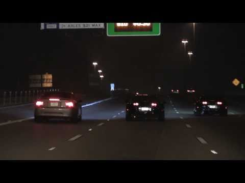 TX2K11 - Mexico Night Runs **Supra's VS. Twin Turbo Mustang**