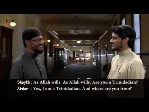 Lessons In Arabic {SEASON 01} - Shaykh Munaf  ; Conversation - Introduction ~ episode 01