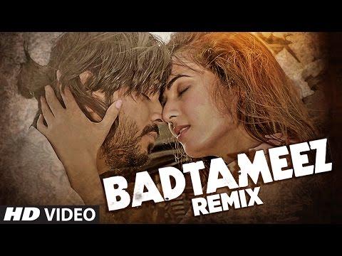 Ankit Tiwari : BADTAMEEZ  REMIX Video Song | Sonal Chauhan | Latest Hindi Song | T-Series
