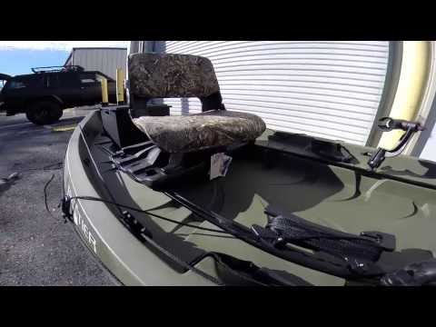 NuCanoe Frontier 12 Rigging walkthrough