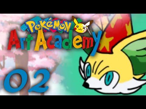 Pokemon Art Academy Redif' #02 - Et si on faisait un CHAPEAU ?!