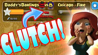 "Clash of Clans - INSANE WAR CLUTCH! ""GETTING CLAN LEVEL 2"" Last Minute Attack! + New Rewards?"