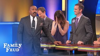 Save yourself Nate, just take an X!   Family Feud