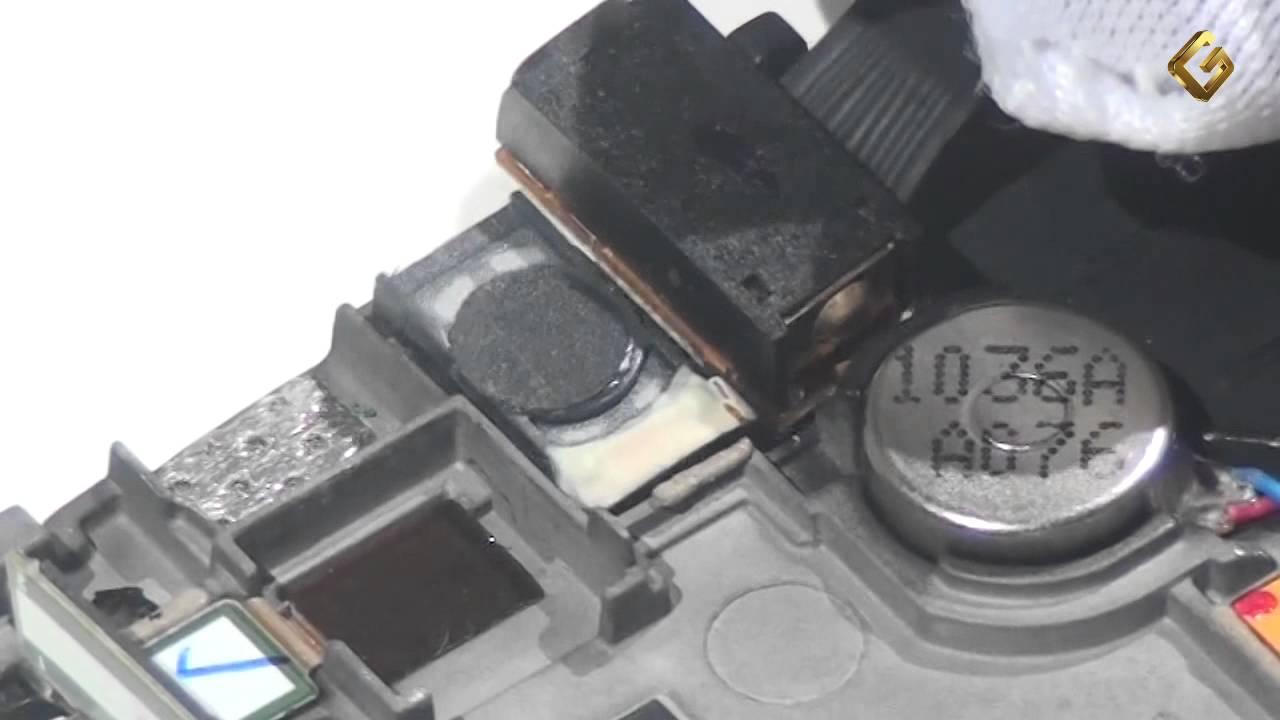 Ремонт Samsung S8500 - замена слухового динамика в телефоне FunnyDog.TV