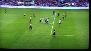 Amazing Leo Messi Goal - Even Better Ray Hudson Articulation