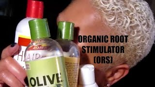 ORS – ORGANIC ROOT STIMULATOR HAIR PRODUCTS REVIEW – FOR BREAKING DAMAGED HAIR