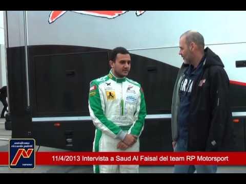 Intervista a Saud Al Faisal, pilota del team RP Motorsport