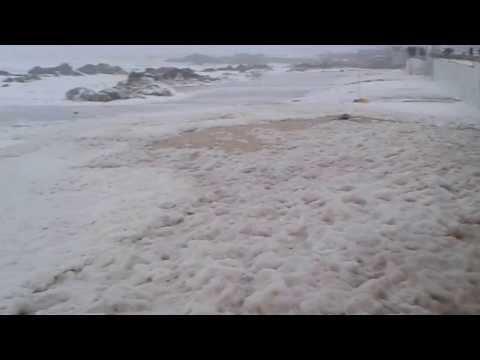 Tempestade Hercules em Le�a da Palmeira 5