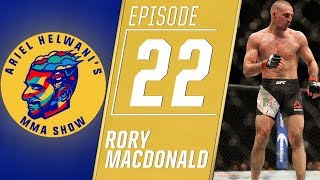 Rory MacDonald: I didn't have any fire vs. Gegard Mousasi | Ariel Helwani's MMA Show