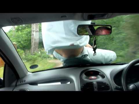 Tontos - Como hacer el tonto encima de un coche en marcha