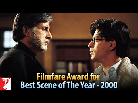 Filmfare Award for Best Scene of The Year -  2000 - Mohabbatein...