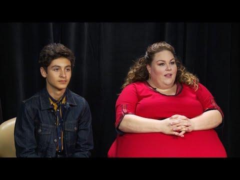 "Interview: Chrissy Metz And Marcel Ruiz On Film ""Breakthrough""   Sharee Silerio"