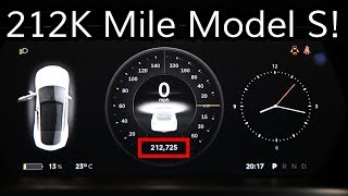 What's Owning A Tesla Model S For 212K Miles Like? (341K km)