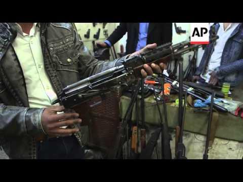 Business brisk for Kurdish gunsmith in Iraq