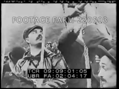 Early russian newsreel various locations 220503 02