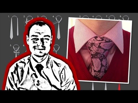 How to Tie a Necktie Balthus Knot