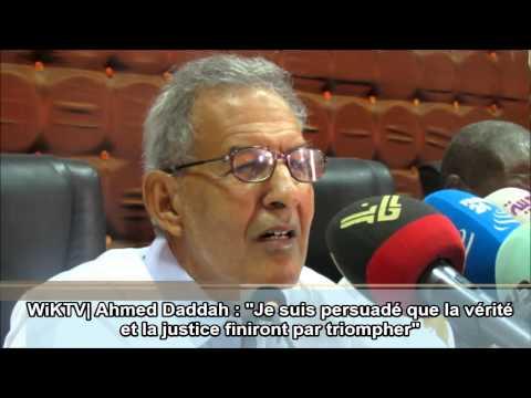 Ahmed Daddah croit au triomphe de la vérité sur Mohamed Ould Abdel Aziz