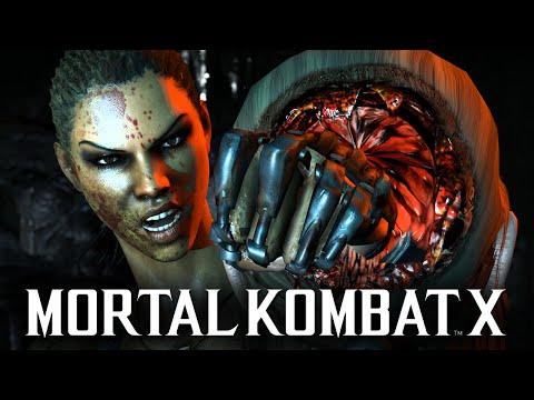 Mortal Kombat X -  Бой с Девушкой! Кто Круче?