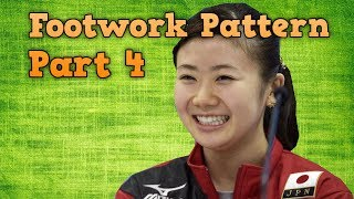 Table Tennis Footwork - Part 4