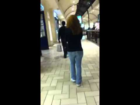 Hot Girl In Mall