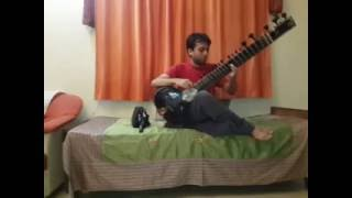 Bollywood Movie Song 'Mitawa' on Sitar by Sameep Kulkarni
